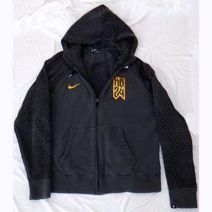 Nike Kobe Bryant 24 gray zip hoodie